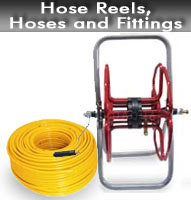 Hose Reels, Hoses and Fittings